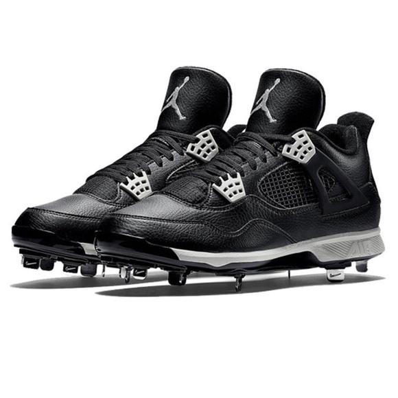 167cd61b24e Mens Nike Air Jordan IV Baseball Cleats Blk Retro. NWT. Nike.  M 5c7fbfc8a5d7c61fea40b1fb. M 5c7fbfc845c8b32069d40ccb.  M 5c7fbfc8409c151e68e84ed3